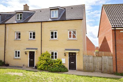 3 bedroom end of terrace house for sale - Oriole Drive, Cringleford