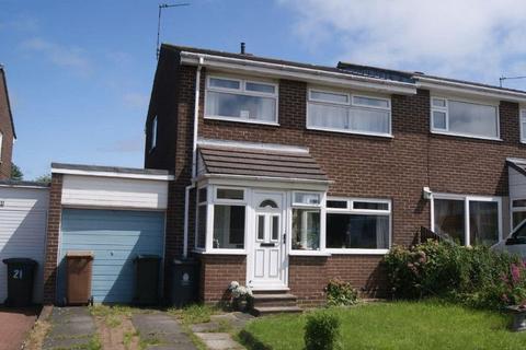3 bedroom semi-detached house for sale - Glencoe, Killingworth