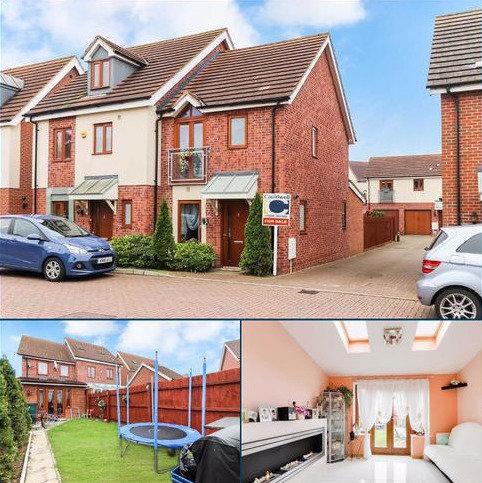2 bedroom townhouse for sale - Whitehaven Close, Broughton, Milton Keynes, Bucks