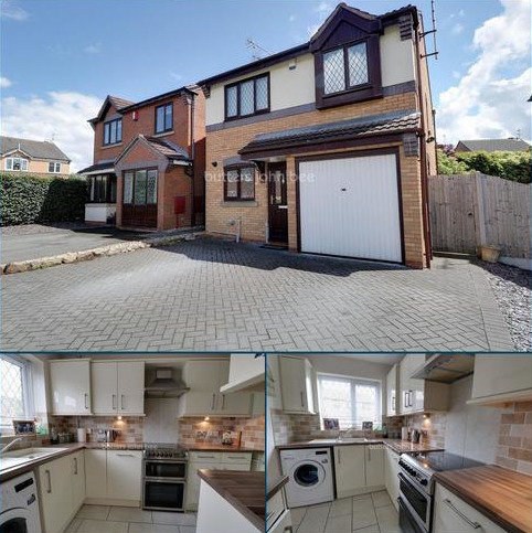 3 bedroom detached house for sale - Glamis Drive, Stone