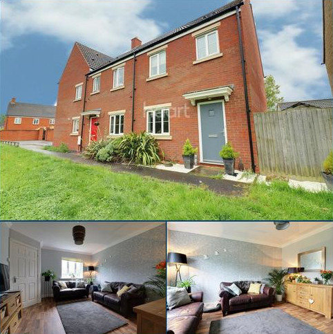 3 bedroom end of terrace house for sale - White Eagle Road, Swindon, Wiltshire