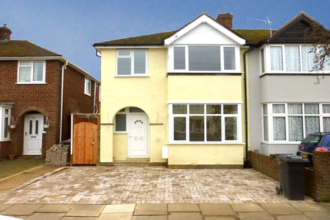 3 bedroom semi-detached house to rent - Winchester Road, Bedford MK42