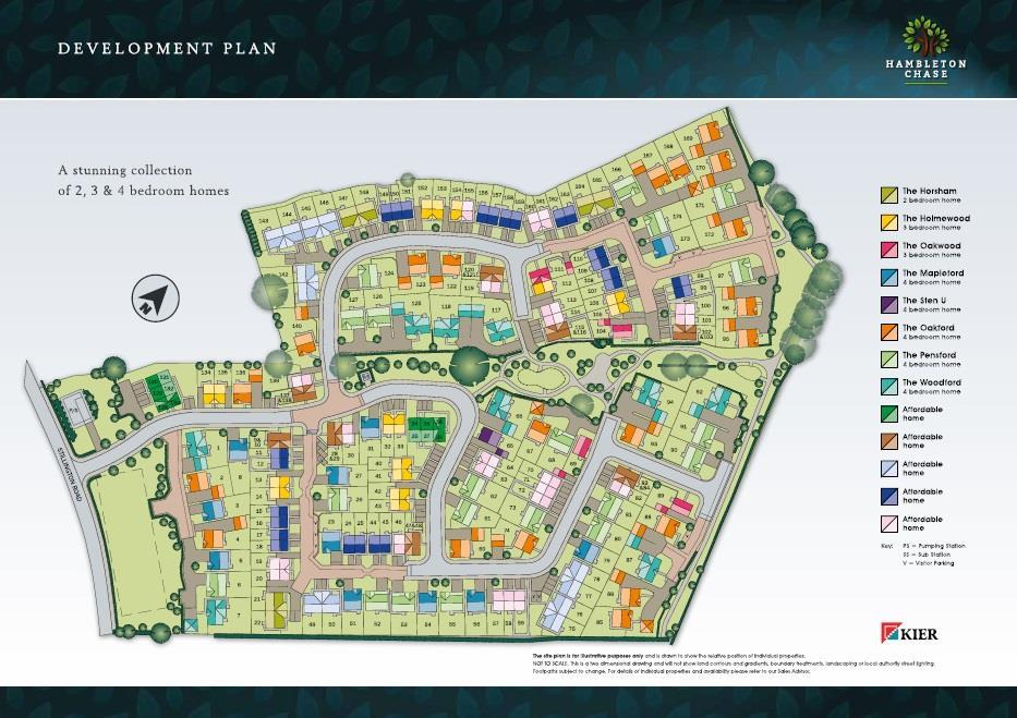 Hambleton Chase Site Plan