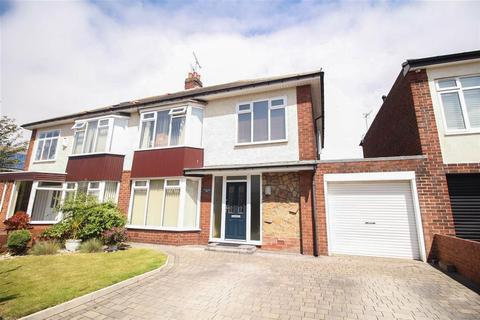 3 bedroom semi-detached house for sale - Millview Drive, Tynemouth