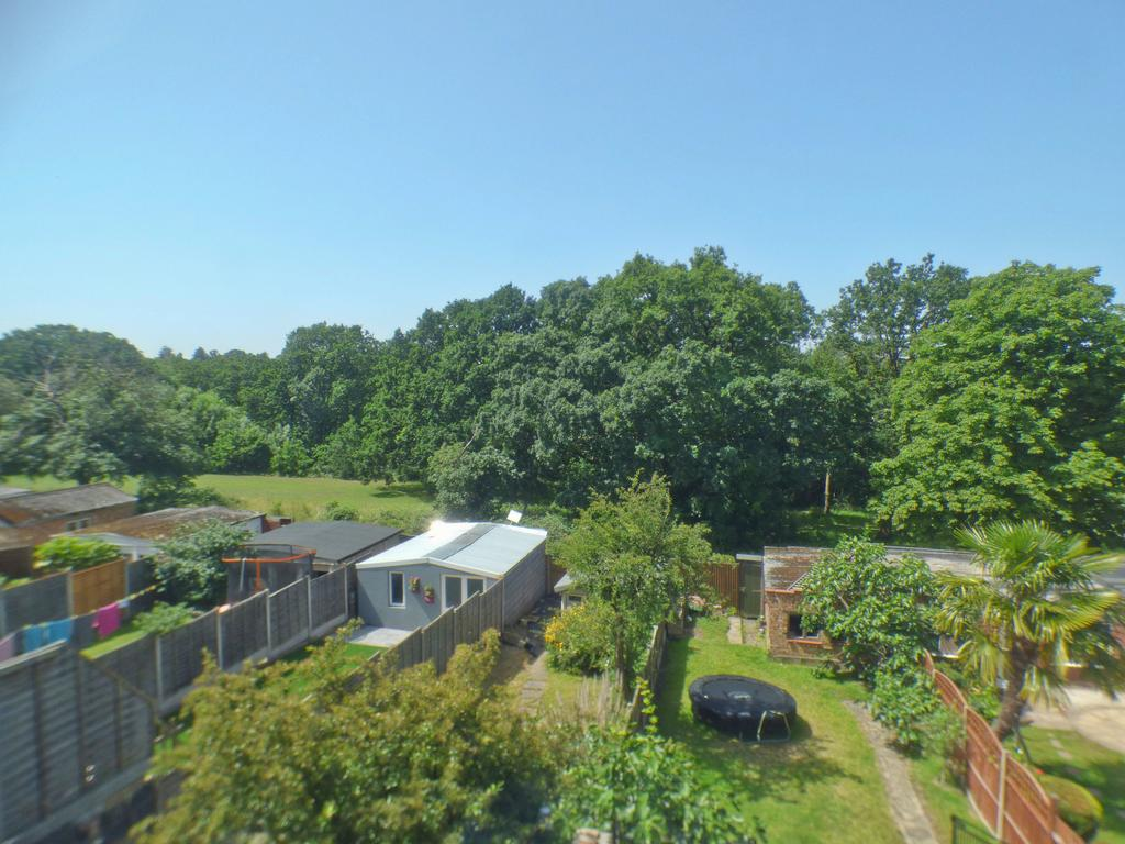 View from rear bedroom over park