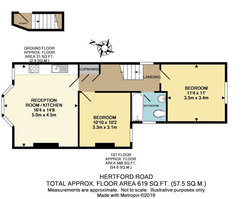 Floorplan: Hertford