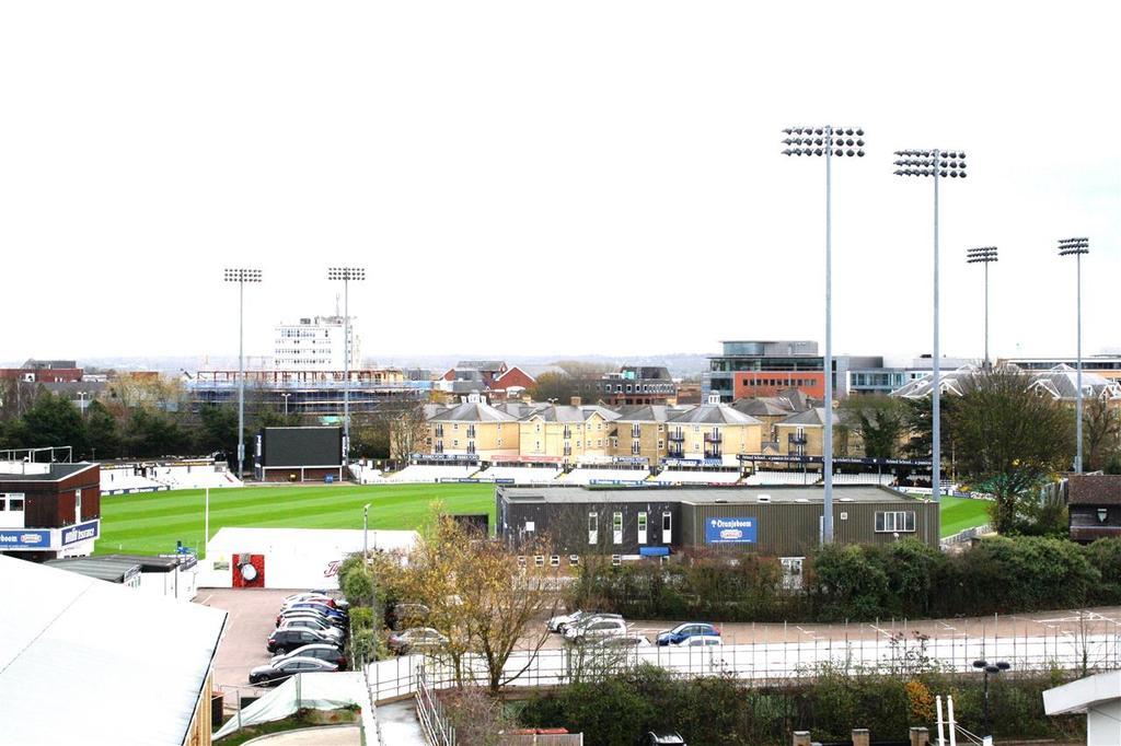 Balcony Views of the Cricket Ground