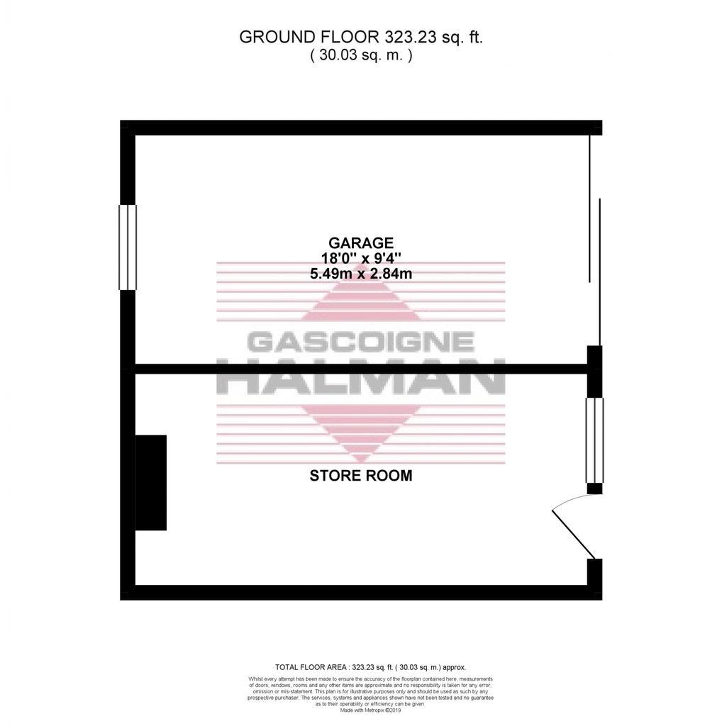 Floorplan 2 of 2: Garage & Store