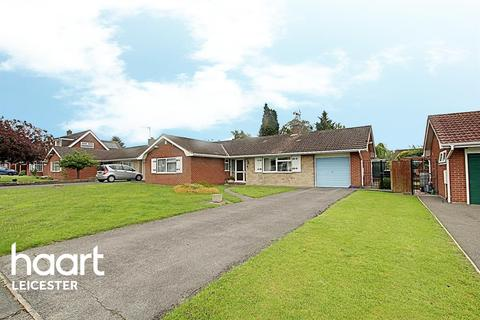 3 bedroom bungalow for sale - Beechwood Close, Evington, Leicester