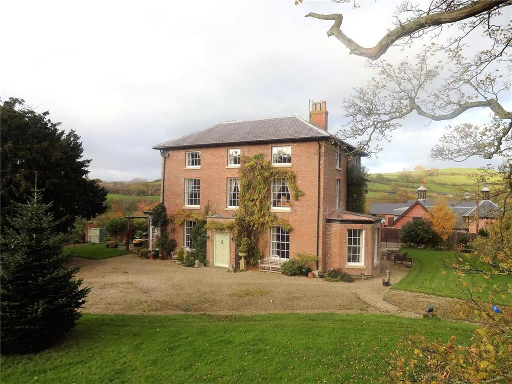 5 Bedrooms Semi Detached House for sale in Glanhafren Hall, Llanidloes Road, Newtown, Powys
