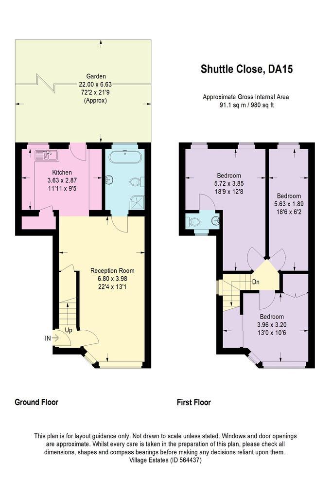 Floorplan: Shuttle Close...