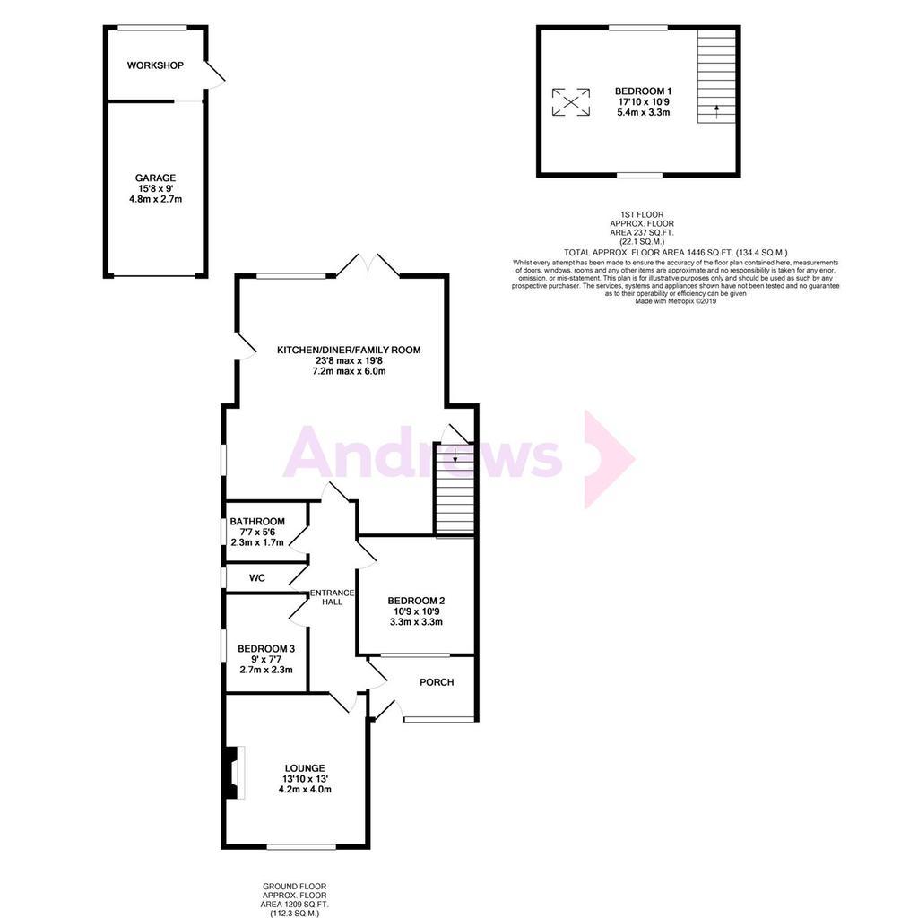 Floorplan: Ellenborough Road
