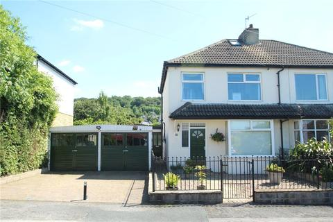 3 bedroom semi-detached house for sale - NAB WOOD CRESCENT, SHIPLEY, BD18 4HX