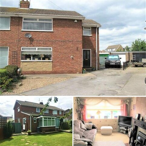 3 bedroom semi-detached house for sale - Willowfield Drive, Keyingham, Hull, East Riding of Yorkshire
