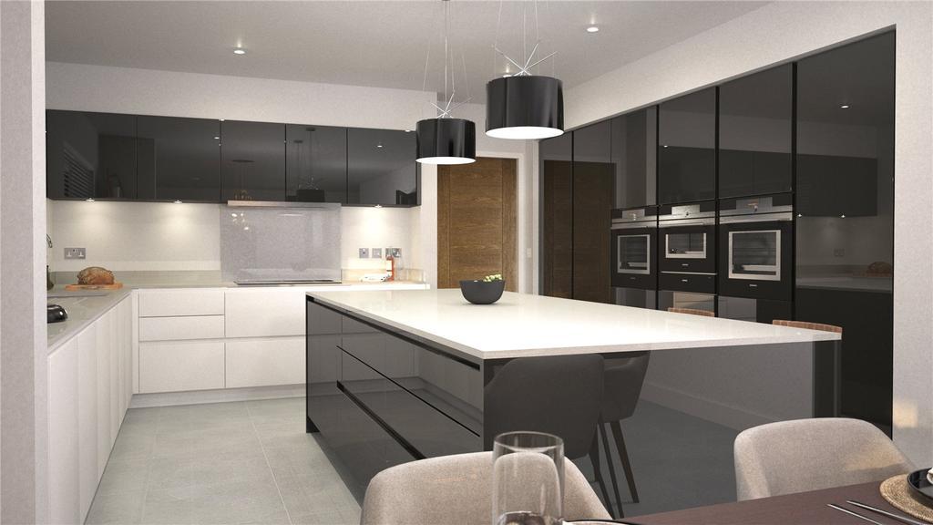 CGI Oakmere Kitchen