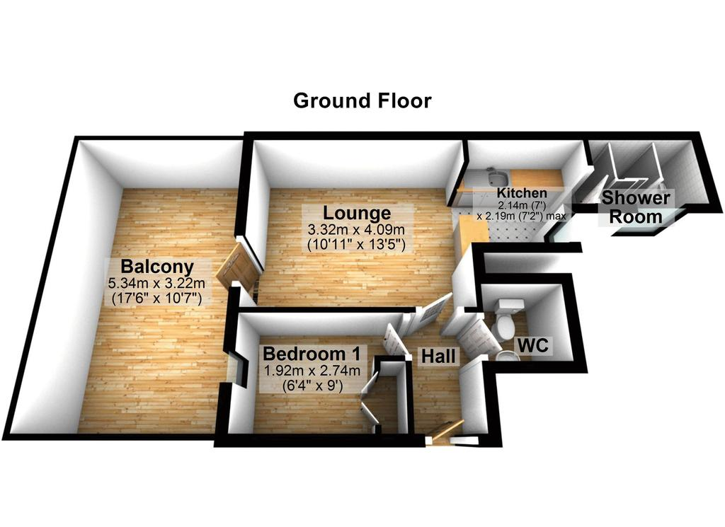 Floorplan 2 of 2: Floorplan Two