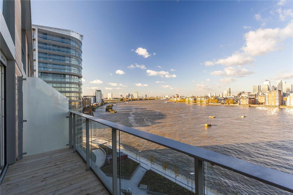 2 Bedrooms Flat for sale in Canary View, Dowells Street, Greenwich, London