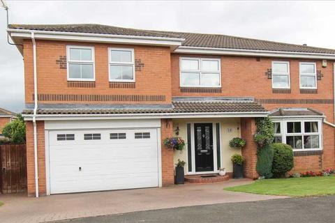 5 bedroom detached house for sale - Glenfield Avenue, Northburn Vale, Cramlington