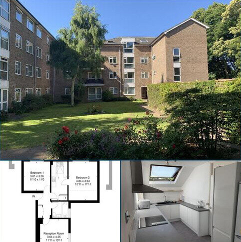 2 bedroom flat for sale - Grosvenor Court, Fairfax Road, Teddington TW11