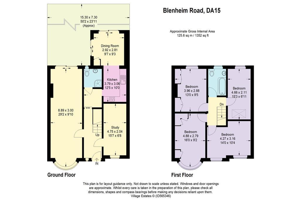 Floorplan: Blenheim Road...