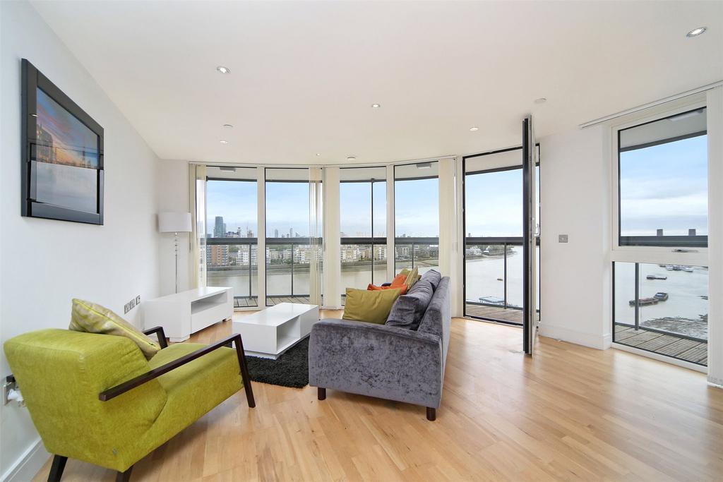 3 Bedrooms Flat for sale in Dowells Street, Greenwich, London, SE10