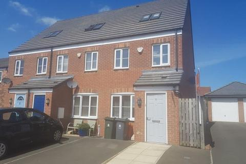 3 bedroom townhouse for sale - Greenacres Close, Killingworth, Newcastle upon Tyne