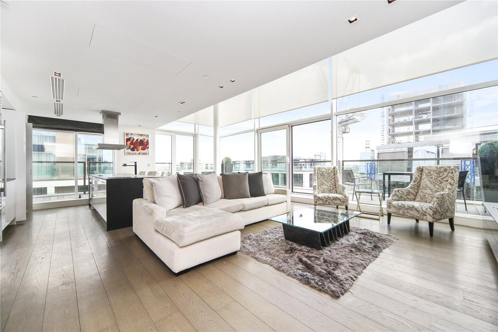 3 Bedrooms Penthouse Flat for sale in Wolfe House, Kensington High Street, Kensington, London