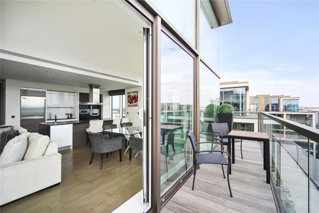 3 Bedrooms Penthouse Flat for sale in Wolfe House, 389 Kensington High Street, Kensington, London, W14