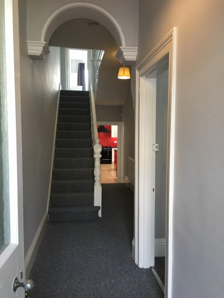 Derry Avenue Plymouth 6 bed Student Accommodation hallway