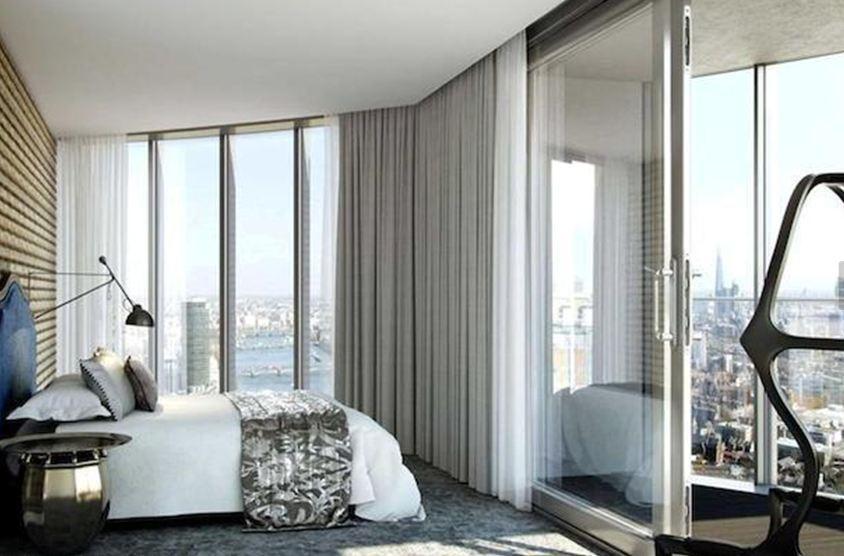 2 Bedrooms Flat for sale in Sky Gardens, Wandsworth Road, London