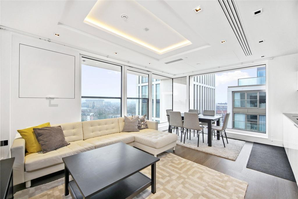 2 Bedrooms Flat for sale in Lord Kensington House, 5 Radnor Terrace, London, W14