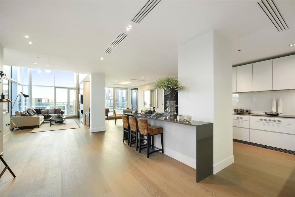 6 Bedrooms Penthouse Flat for sale in Trinity House, 375 Kensington High Street, Kensington, London