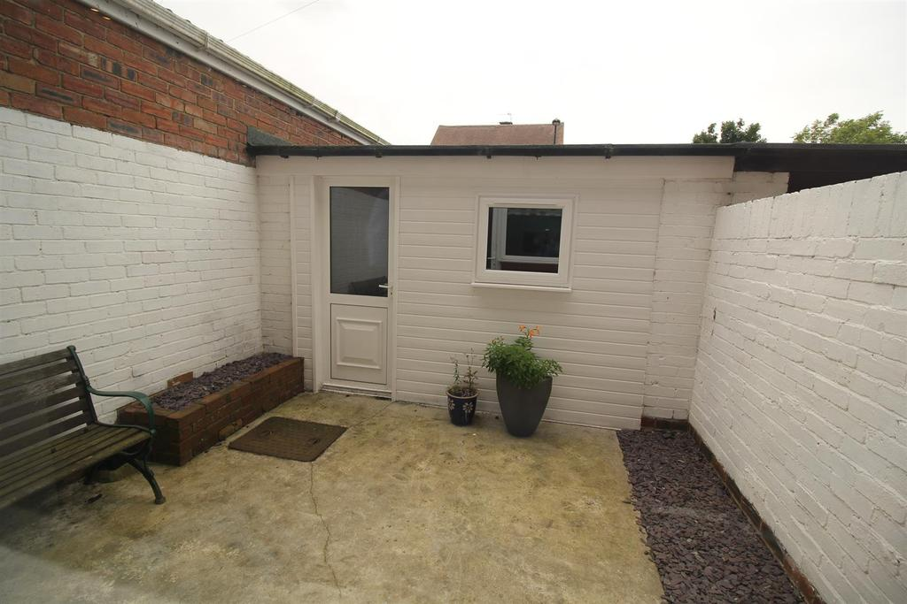 Rear Yard/Garage