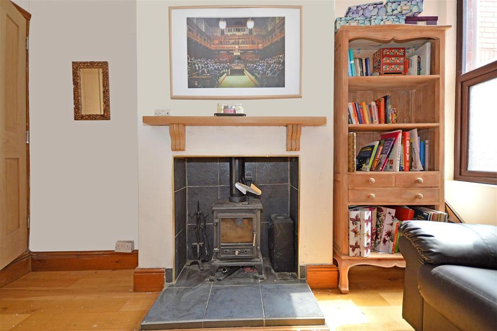 Rear dining room stove