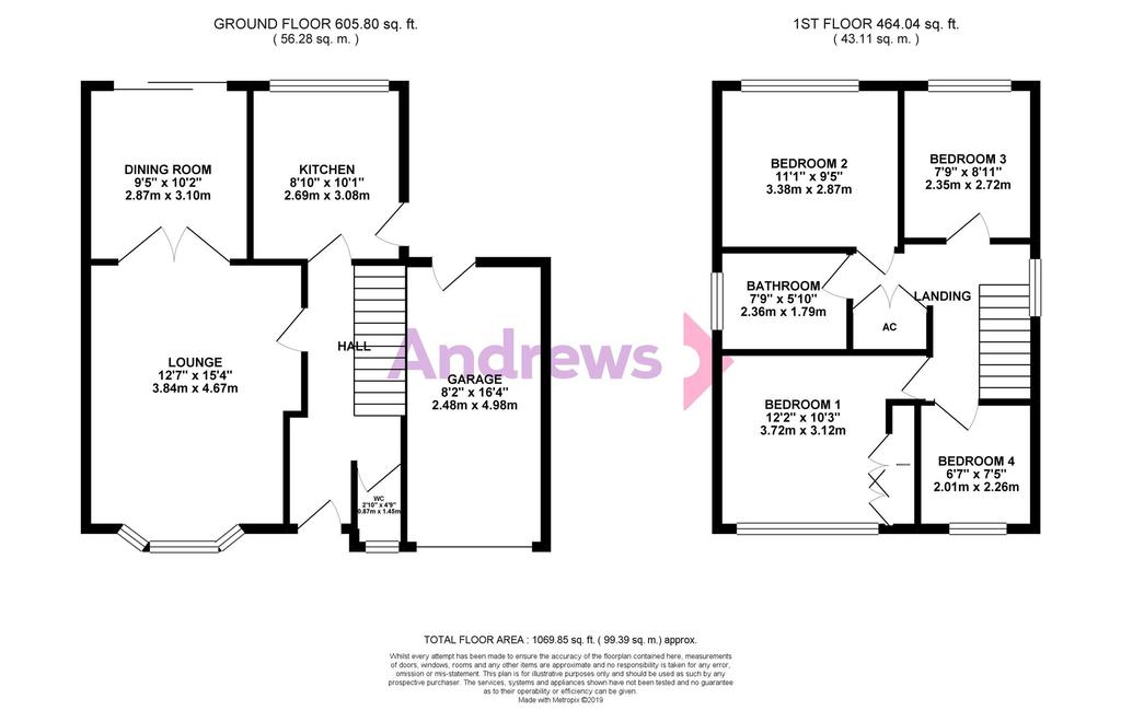 Floorplan: Sturmer Close