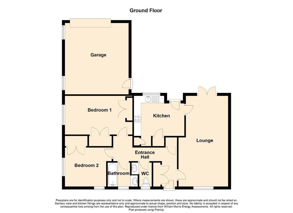 Floorplan: 2 D Floor Plan 1 Maes Llwyd, Llanystumdwy.jpg