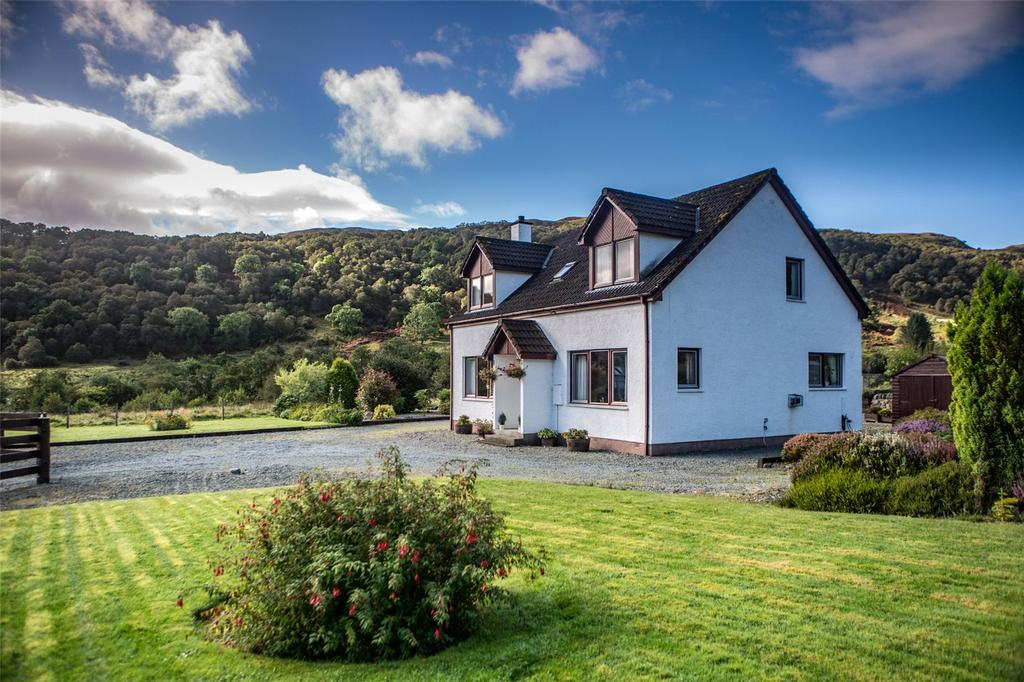 5 Bedrooms Detached House for sale in Birchwood, Achmore, Strome Ferry, Wester Ross, IV53