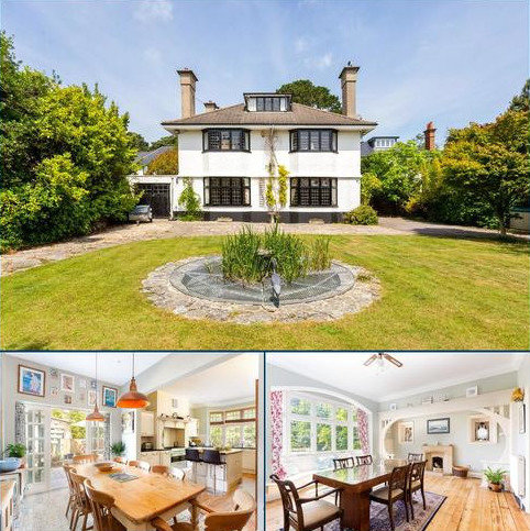 5 bedroom detached house for sale - Cliff Drive, Canford Cliffs, Poole, Dorset, BH13