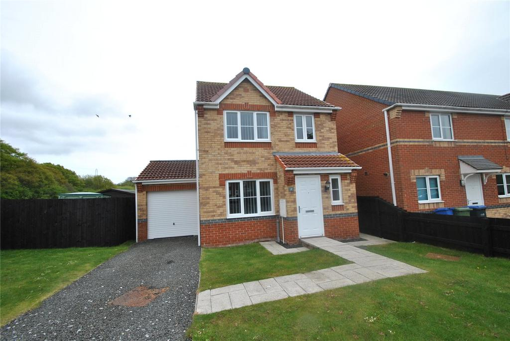3 Bedrooms Detached House for sale in Windermere Road, South Hetton, Co. Durham, DH6