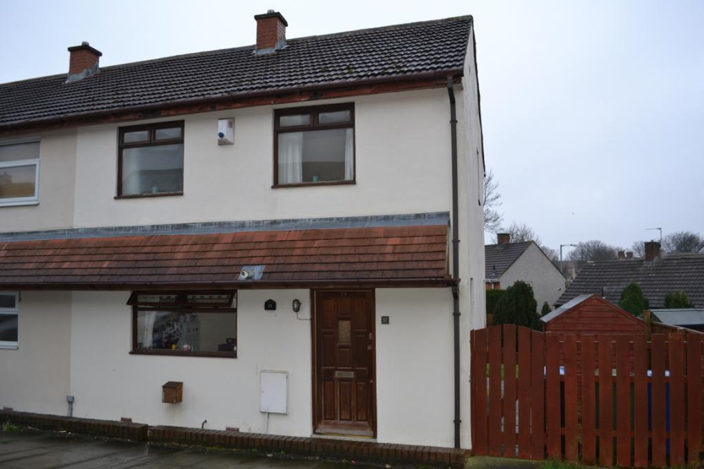 2 Bedrooms End Of Terrace House for sale in Pickard Close, Peterlee, Co. Durham, SR8