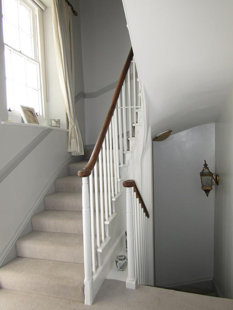 Stairs on first floor