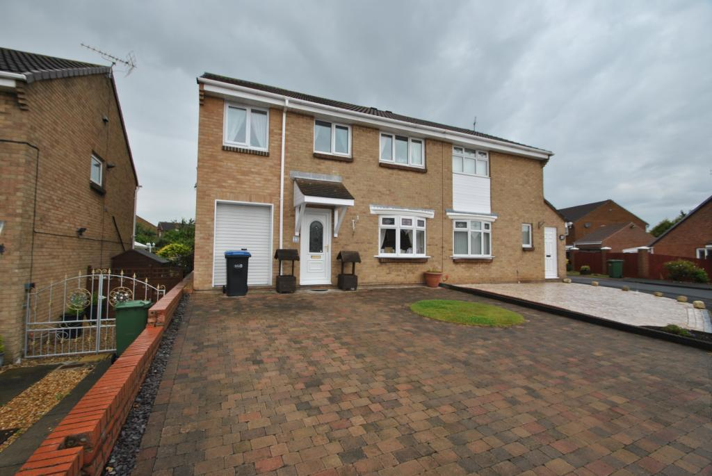 4 Bedrooms Semi Detached House for sale in Escallond Drive, Seaham, Co Durham, SR7