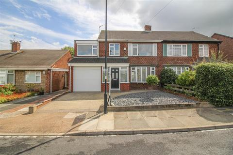 4 bedroom semi-detached house for sale - Rayleigh Drive, Wideopen, Newcastle Upon Tyne