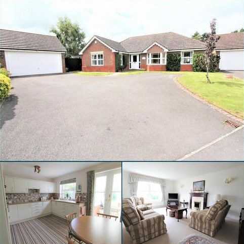 3 bedroom detached bungalow for sale - Goddard Close, Bushby, Leicester LE7