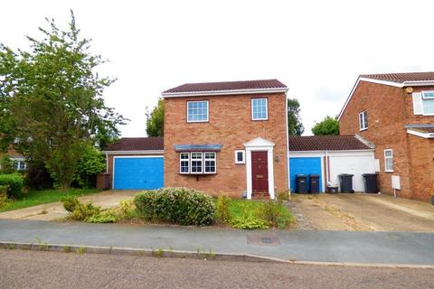 3 bedroom link detached house to rent - Melford Close, Luton, Bedfordshire, LU2 9SN