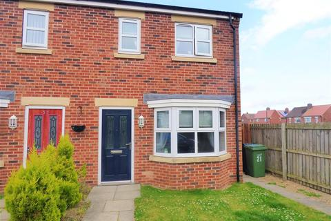 3 bedroom semi-detached house for sale - Sidings Place, Fencehouses, Houghton Le Spring