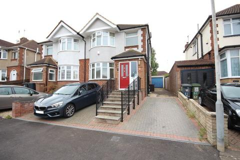 3 bedroom semi-detached house for sale - 3 bed extended semi in Round Green with large rear garden....