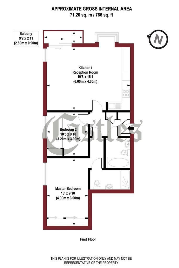 Floorplan: Gransden House,...