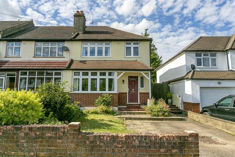 3 bedroom end of terrace house for sale - Manor Way, Banstead