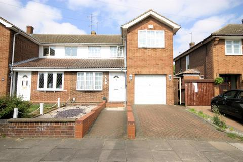 3 bedroom semi-detached house for sale - Broughton Avenue, Icknield Catchment, Luton